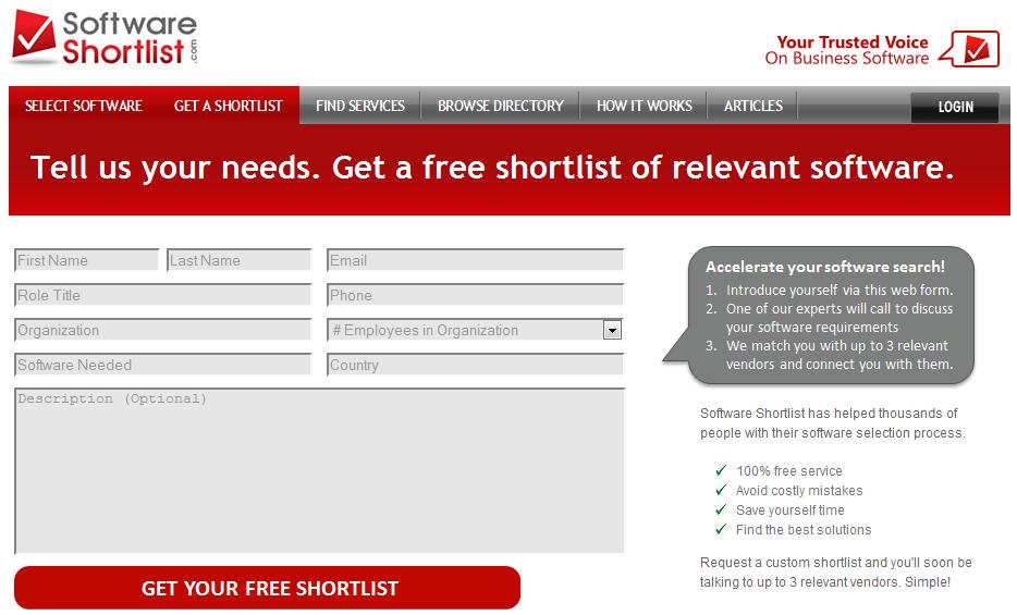 Get A Shortlist