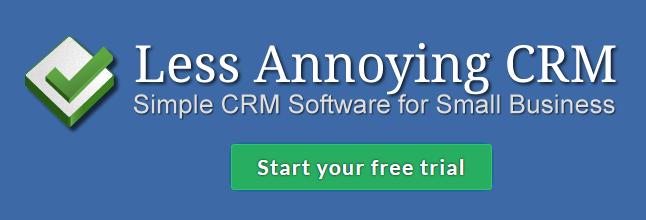 Less Annoying CRM banner