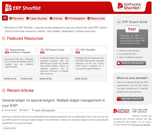 Erp Shortlist Screenshot Png