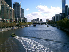 Melbourne's Yarra River - where we had the insight for SoftwareShortlist. (photo credit: Edwin 11 on flickr.com)